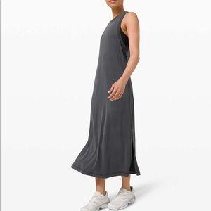Lululemon Ease of It All Dress Graphite Grey